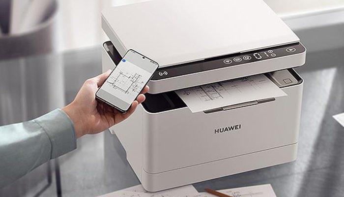 چاپگر هوشمند هواوی با پشتیبانی از سیستم عامل Harmony