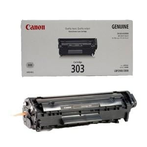 کارتریج تونر لیزری مشکی کانن Canon 303