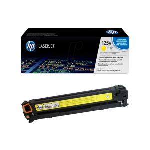 کارتریج تونر لیزری  زرد اچ پی  HP 125A