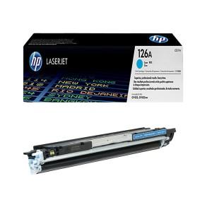 کارتریج تونر لیزری  آبی  اچ پی  HP 126A