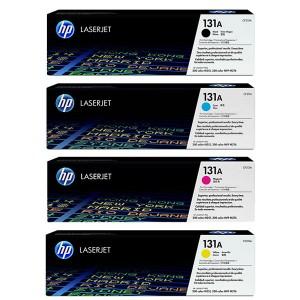 ست 4 رنگ کارتریج تونر لیزر رنگی  HP 131A