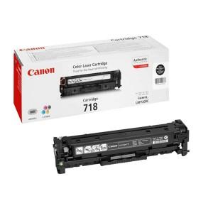 کارتریج تونر لیزری  مشکی کانن  Canon 718