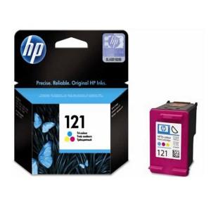 کارتریج جوهرافشان  رنگی  اچ پی HP 121