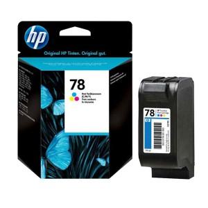کارتریج جوهرافشان  رنگی اچ پی HP 78