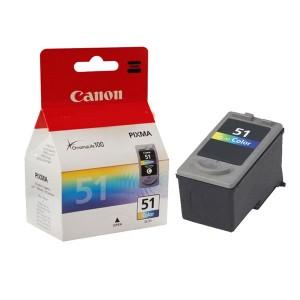 کارتریج جوهرافشان رنگی کانن Canon CL 51