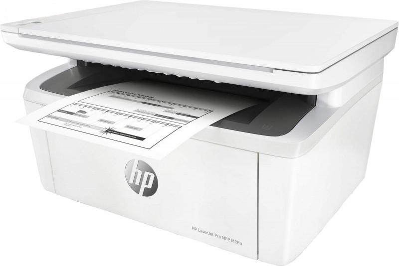 پرینتر چندکاره لیزری اچ پی مدل  HP MFP M28a