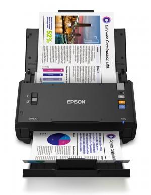 اسکنر اسناد اپسون مدل EPSON WorkForce DS-520
