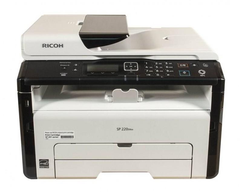 پرینتر چند کاره لیزری ریکو Ricoh SP 220SFNw