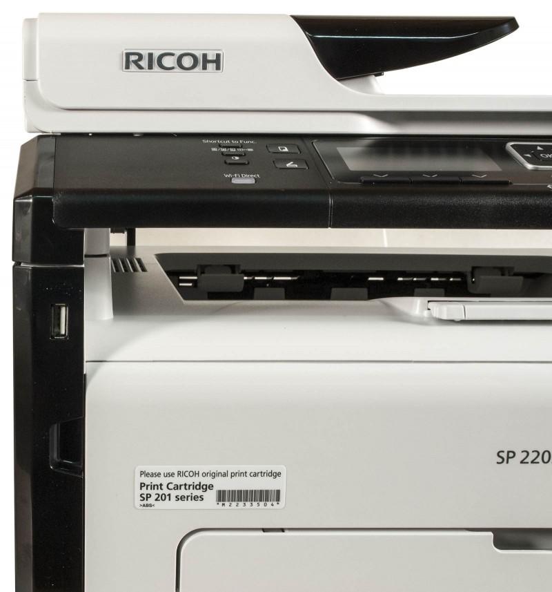 پرینتر چندکاره لیزری ریکو مدل Ricoh SP 220SNw