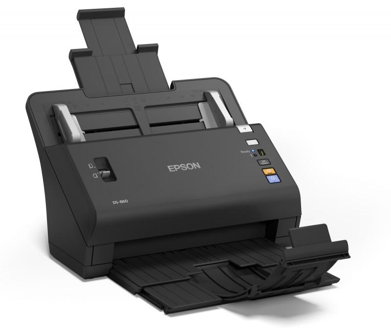 اسکنر حرفهای اسناد اپسون مدل EPSON WorkForce DS-860